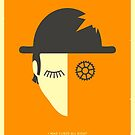 CLOCKWORK ORANGE by JazzberryBlue