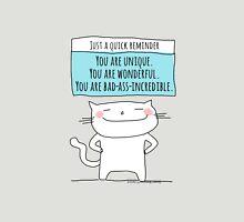 A quick reminder... you are wonderful. / Cat doodles Unisex T-Shirt
