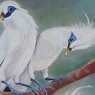 Mynah Sweethearts by Leslie Gustafson