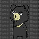 The moon Bear  by hoshi-kou