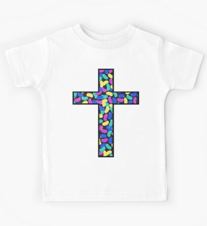 Jelly Beans Blue and Green Kids Tee