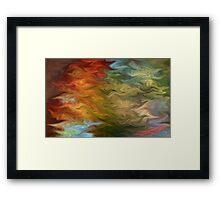 Liquid bliss Framed Print