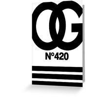 OG N°420 Greeting Card