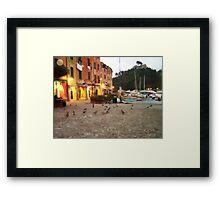 Portofino Nigth Framed Print