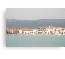 adriatic sea croatia split Canvas Print