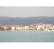 adriatic sea croatia split Photographic Print