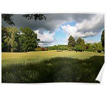 Spring Farm Field Poster