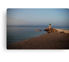 adriatic sea croatia Canvas Print