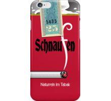 Schnaufen Zigaretten iPhone Case/Skin