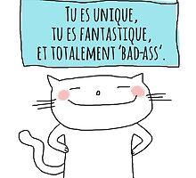 Un petit aide-mémoire... tu es fantastique! / Ooh la la ! (French doodles) by eyecreate