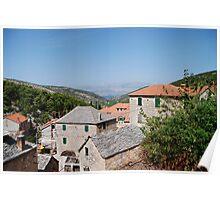 croatia village Poster