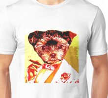 Puppy with Cigar Unisex T-Shirt