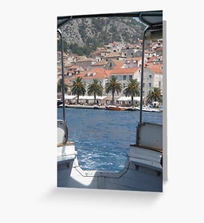hvar croatia  Greeting Card