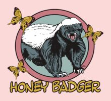 Honey Badger ... you know ... for kids by ZugArt