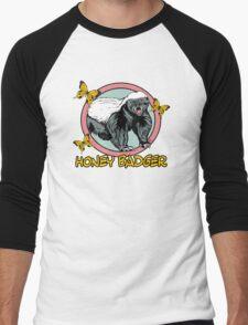 Honey Badger ... you know ... for kids Men's Baseball ¾ T-Shirt