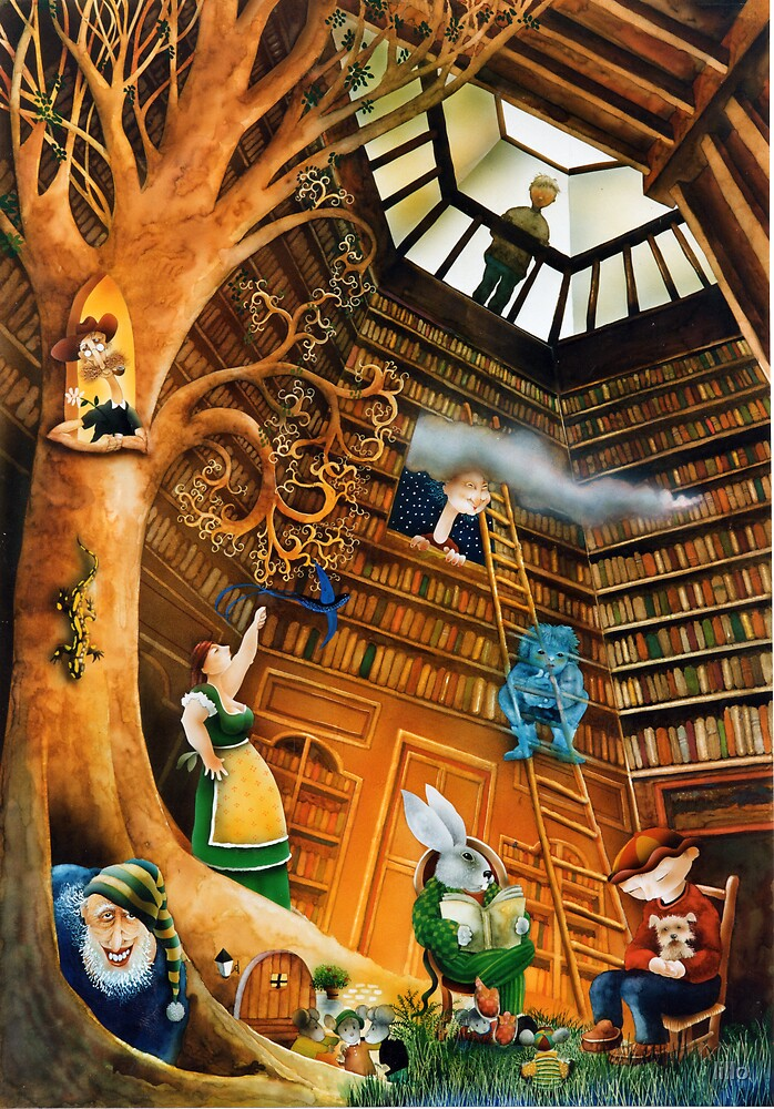 The library by lillo