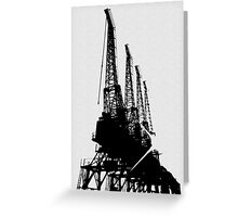 Four Cranes Greeting Card