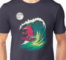 Moonlight Surfer Unisex T-Shirt