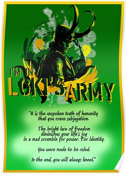 I'm In Loki's Army by a745