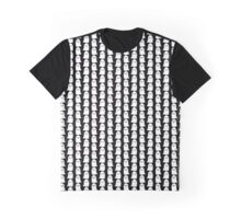 Cute Ghosties - Blue Graphic T-Shirt