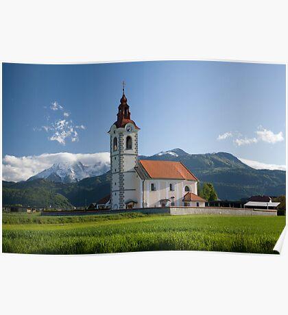 Church of saint John Poster