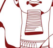 Rameses II (Crimson) Sticker