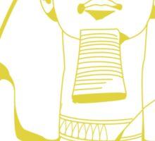 Rameses II (Yellow) Sticker
