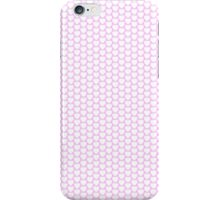 Cute Small White on Pink Hearts! iPhone Case/Skin