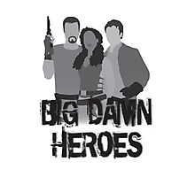Big Damn Heroes - Firefly poster Photographic Print