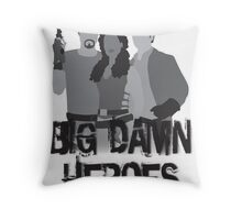 Big Damn Heroes - Firefly poster Throw Pillow