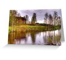 Landscape - HDR Greeting Card