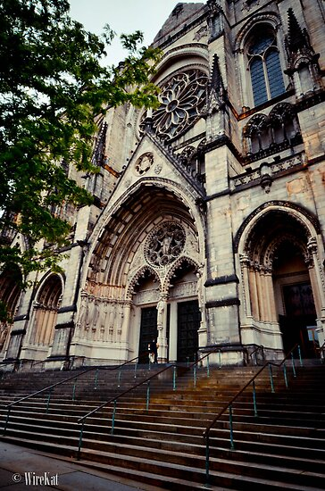 St. John The Divine  by WireKat