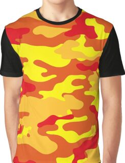 Camouflage (Fire) Graphic T-Shirt