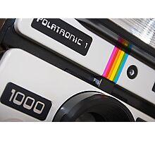 Retro Camera abstract Photographic Print