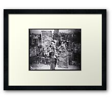Osaka City Scape Framed Print