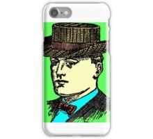 Vintage Brown Hat iPhone Case/Skin