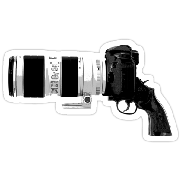 Shoot! (White Barrel) by Onny Carr