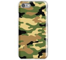 Camouflage (Green) iPhone Case/Skin