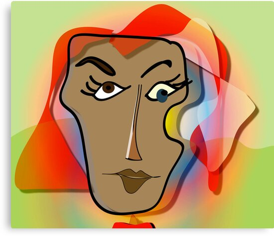 Portrait of Molly by IrisGelbart
