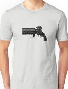 Shoot! (Black Barrel) Unisex T-Shirt