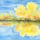 Autumnal Reflections by Caroline  Lembke