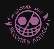 One Piece Doflamingo Justice T-Shirt by thenativepanda