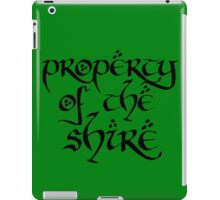 Property of the Shire iPad Case/Skin