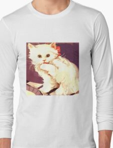 White Cat - Miss Priss Long Sleeve T-Shirt