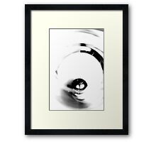 Half Full/Half Empty Framed Print