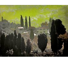 Tuscan Villa Photographic Print