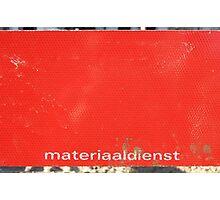 Temporary Amsterdam - Materiaaldienst Photographic Print