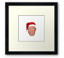 Christmas Trump Framed Print