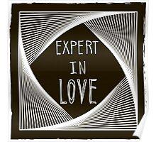 Expert in love Poster