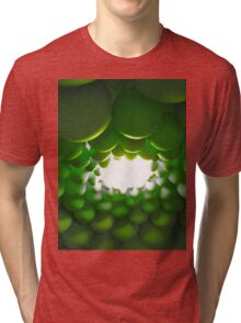 Green ballons Tri-blend T-Shirt